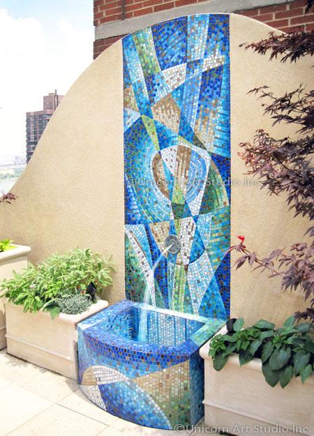 Custom Architectural Mosaics