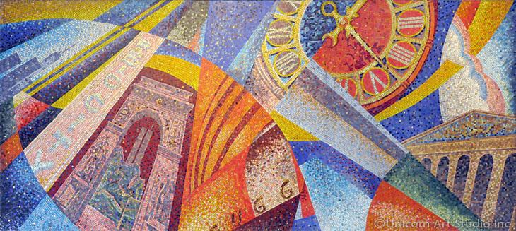 Custom Mosaic Artwork